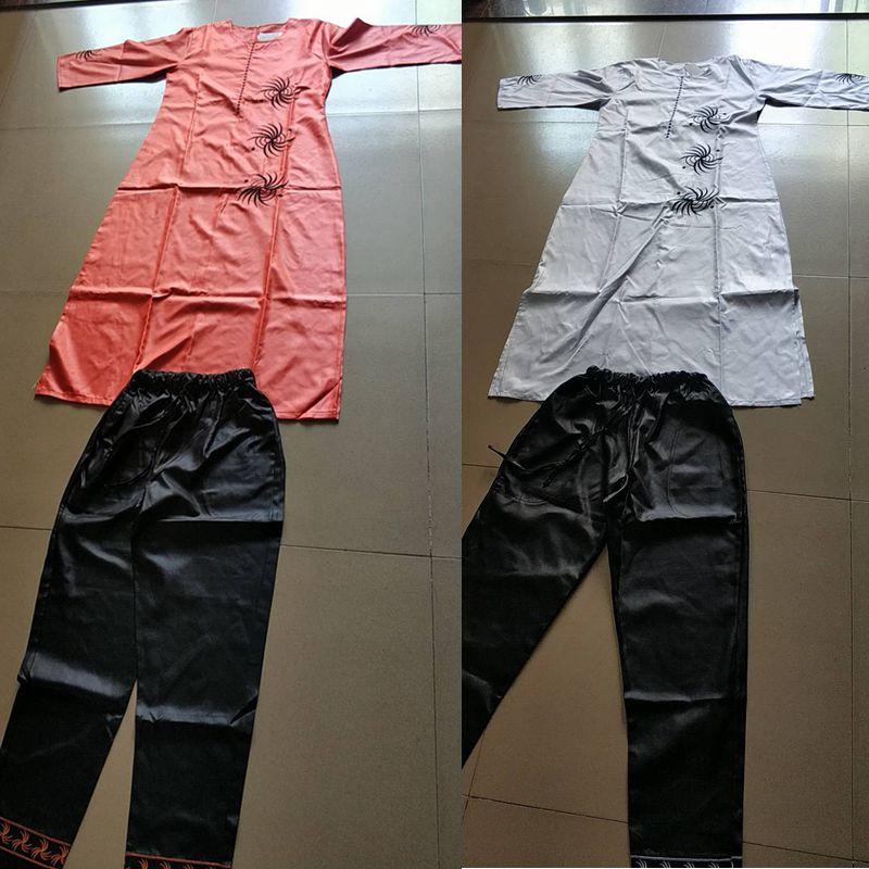 3 unidades set 2018 moda ropa Africana para las mujeres vestidos ... d2b21316dc7