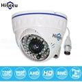 Hiseeu ahdm 720 p 960 p ir mini dome analog ahd cctv camera CORTE IR interior de Visão Noturna HD Câmera De Segurança Câmera De Vigilância de 100 W