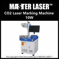 Low Price 10w Laser Engraver CRD 10W RF Laser With Industrial Computer Portable Engraving Machine