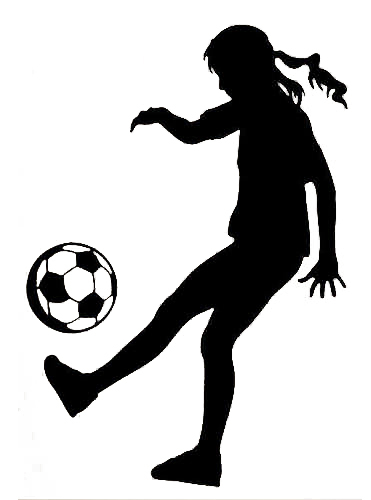free shopping!wall decal art sticker quote vinyl soccer girl