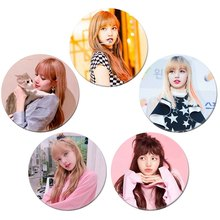 Popular Among Fans K-POP BLACKPINK Album Brooch Pin Badge Accessories For Clothes Hat Backpack Decoration(China)
