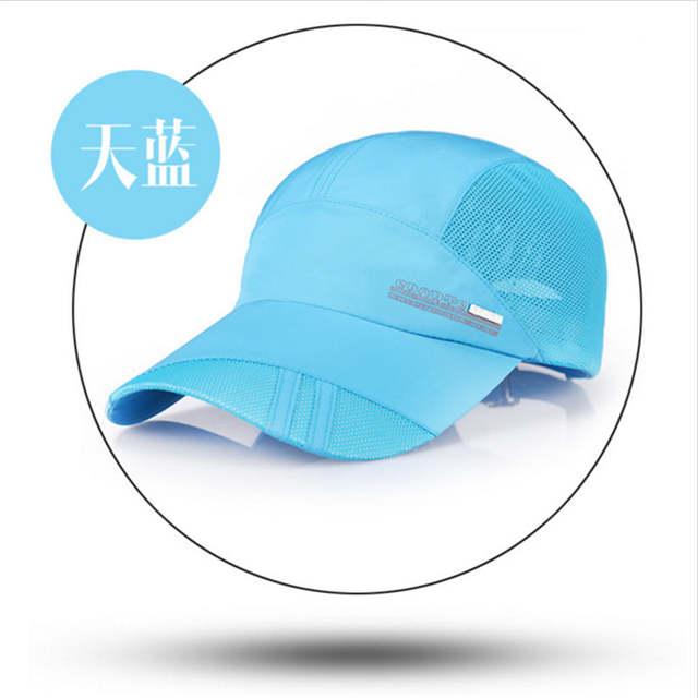 ff0a5daf9da Tennis Caps Trucker Caps Summer Baseball Caps Hat Mesh Breathable  Comfortable Adjustable Snapback Best Hats for