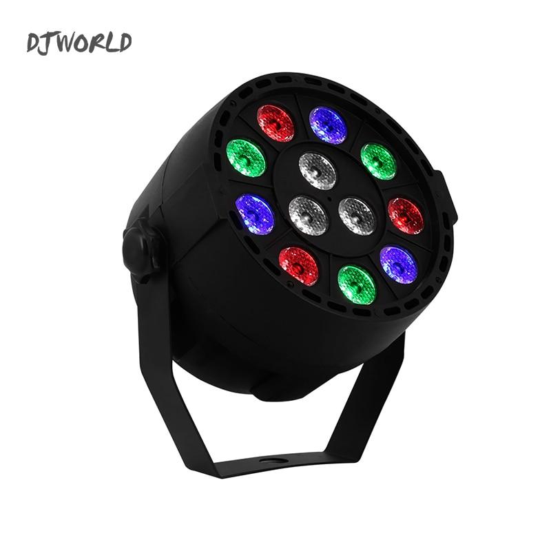 LED Par 12x3W RGBW LED Flash Stage Effect Light Par Light With DMX512 For Disco DJ Party  Wedding  Club Dance Floor