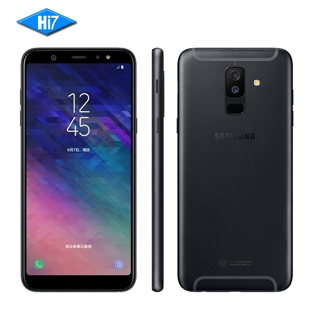 Nouvelle D'origine Samsung Galaxy A9 Sta r Lite A6050 2018 4g RAM 64g ROM 24MP Avant Caméra 3500 mah Dual Sim Octa Noyau Mobile Téléphone
