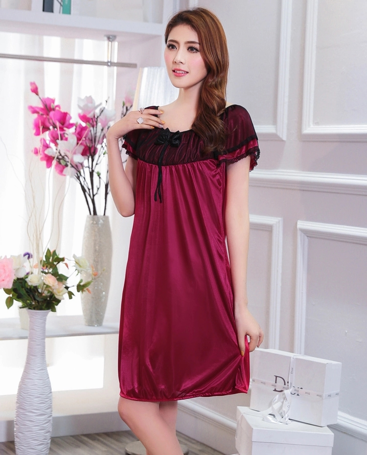 d19c7fe0da Summer Women Nightdress Plus Size Nightgowns Female Casual Home Clothes  Ladies Night Dress Nightshirts Pijamas Mujer A3