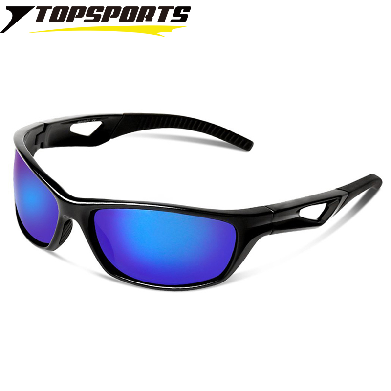 TOPSPORTS TR90 Polarized Sports Men Cycling Sunglasses eye Protective Biking Eyewear Bicycle women Sun Glasses for driving golf