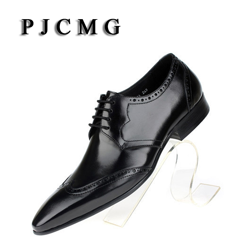 PJCMG New First Layer of Cowhide Men's Ps