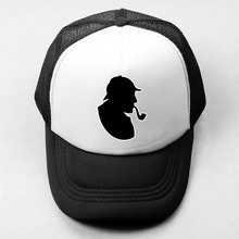 Detective SHERLOCK HOLMES Baseball Cap Men Women Girl Boy Snapback Cap Sports Hat Hip Hop Cap Trucker Caps TBBT Sheldon Cooper