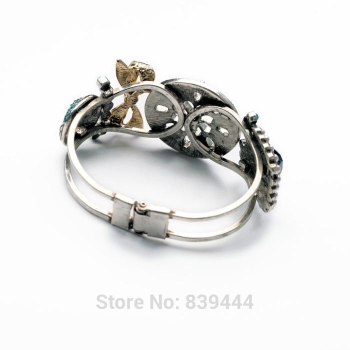 Hot Selling 2014 Fashion Trendy Women Nice Jewelry Bracelet Watch Shape Resin Round Bracelets Bangles