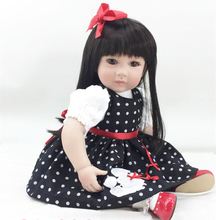 20 inch high quality vinyl soft doll as girls gift