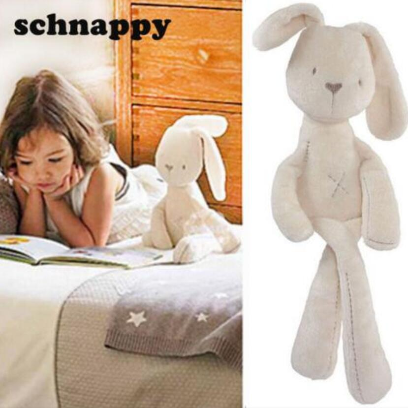Christmas Gift Registered Mail Hot Sale Cute Baby Kids Animal Rabbit Sleeping Comfort Doll Plush Toy