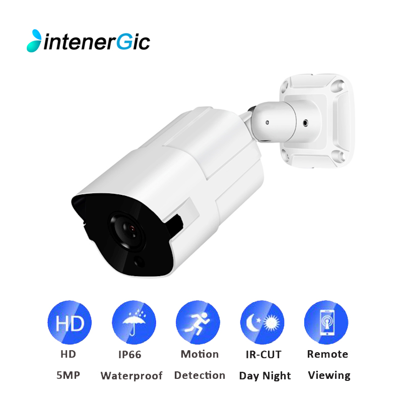 5MP 2MP Video Surveillance POE Outdoor Camera Ip H.265 Home Security Cameras P2P NVR Full HD ONVIF Motion Detection Email Alerts