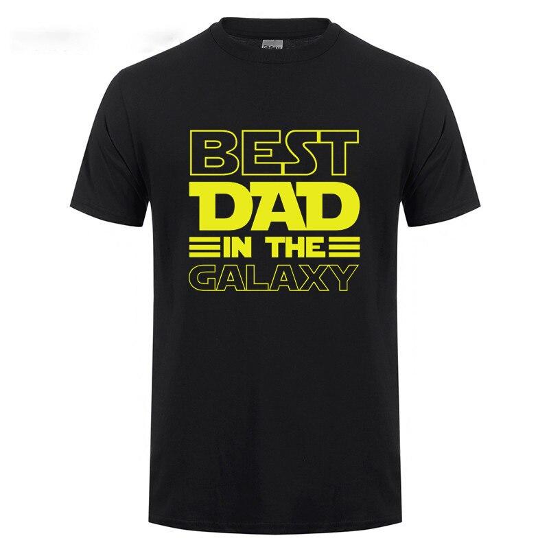 T-Shirt Homme – Le meilleur papa de la galaxie