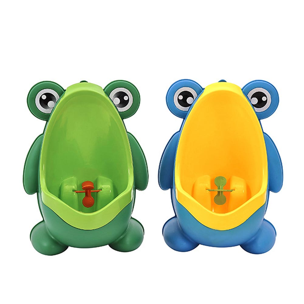 Baby Boy Potty Toilet Training Frog Children Stand Vertical Urinal Pee Infant Wall-Mounted Potty M09