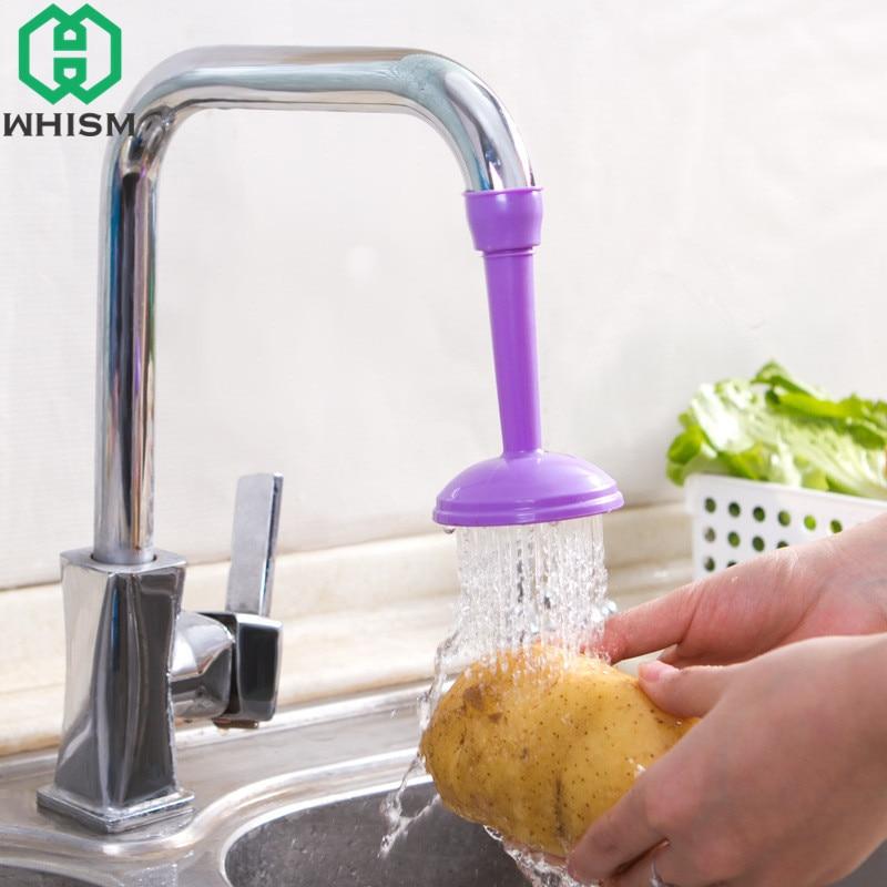 WHISM Kitchen Sink Tap Wash Dish Faucet Adjustable Ultra Saving ...