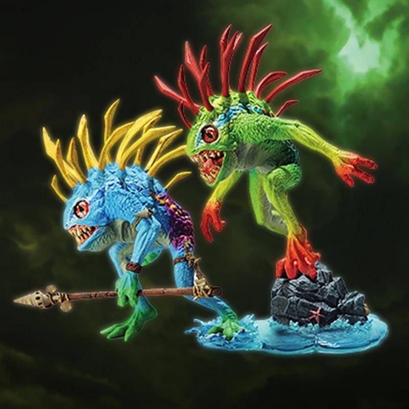 Figura DE ACCIÓN DE Murloc muñeco de juguete de peluche suave Animal relleno juguete de pez mejor regalo de cumpleaños para niños|Figuras de juguete y acción|   - AliExpress
