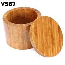 Gewürzglas Holz Runde Bambus Salz Box Container Moderne Küche  Aufbewahrungskoffer Mit Magnet Deckel Kraut Gewürz Werkzeuge