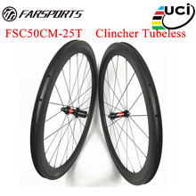 36 Ratchets carbon wheelsets 50mm 25mm for road bicycle UD matte finish Farsports carbon wheels high TG brake full carbon