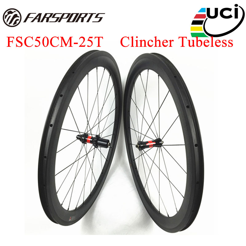 d4df57fd410 36 Ratchets carbon wheelsets 50mm 25mm for road bicycle UD matte finish Farsports  carbon wheels high TG brake full carbon