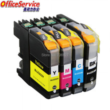LC233 LC231 Compatible Ink Cartridge For Brother MFC-J4620DW MFC-J5720DW MFC-J5320DW MFC-J480DW MFC-J680DW DCP-J562DW printer цена 2017