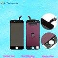 Высокое Качество Для iPhone 6 ЖК-Дисплей и Дигитайзер Ассамблеи Рамка Экрана 4.7 дюймов, черный Белый