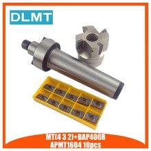 送料無料 MT4 FMB22 シャンク BAP400R/BAP300R 50 22 正面フライス cnc カッター + 10 個 APMT1604/APMT1135 挿入工具