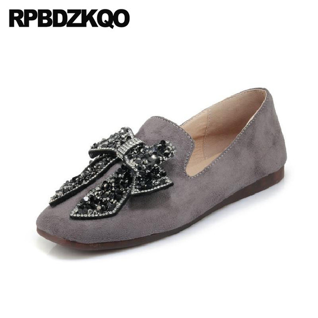 Grey wide suede loafers sale online store supply for sale free shipping 100% guaranteed discount Manchester shop for for sale xxd5Kg
