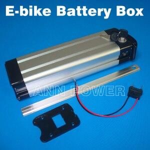 Image 2 - Gratis Verzending 36V Elektrische Fiets Batterij Case Lithium Ion Batterijen Doos 36V E Bike Batterij Geval Nieuwe 100% Groothandel En Detailhandel