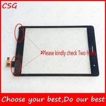 100% Оригинальный Новый 7.85 inch Tablet Pc С Сенсорным Экраном 078002-01a-v2 с 2 отверстиями Сенсорный Сенсорная Панель Стекло Касания