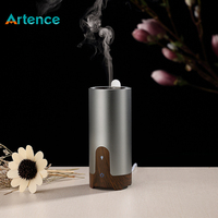 High Quality Ultrasonic Air Humidifier Essential Oil Aroma Diffuser For Home Office Car Wood Grain Aromatherapy