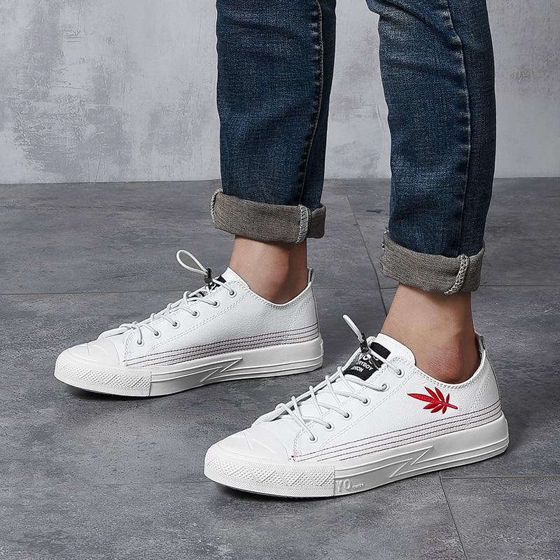 Fg5 De Tamanho Casuais 43 Tow Genuíno outono Homem Simples Primavera 2018 Luz Nova Black Zapatos Moda Cor Confortável Los Couro 38 white Sapatos fZYwRq