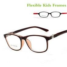 TR90 детская оптическая оправа, очки,, 7 цветов, двойной цвет, крутой стиль, для девочек и мальчиков, оправа для детских очков