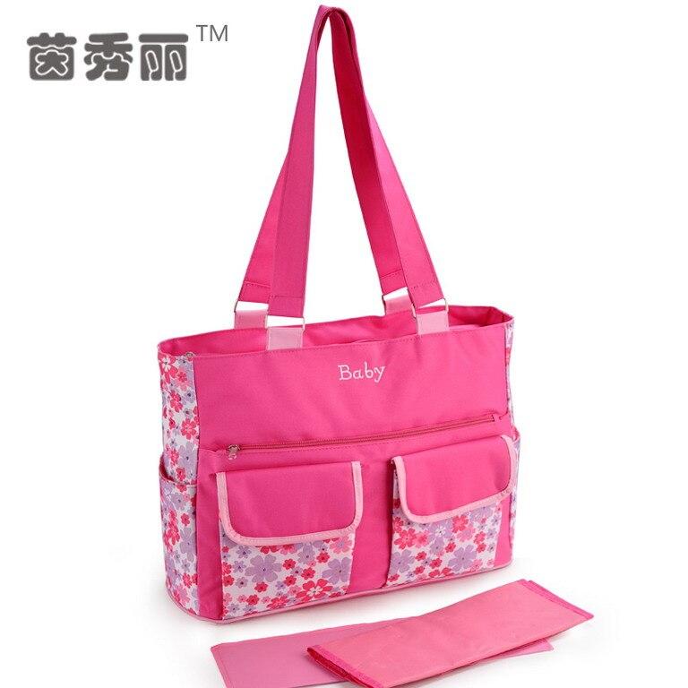 뜨거운 판매 방수 엄마 가방 패션 기저귀 기저귀 - 기저귀 및 화장실 훈련