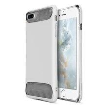 BASEUS Ангел серии 2 в 1 предмет + Силиконовые ТПУ противоударный чехол для iPhone 7 плюс белый