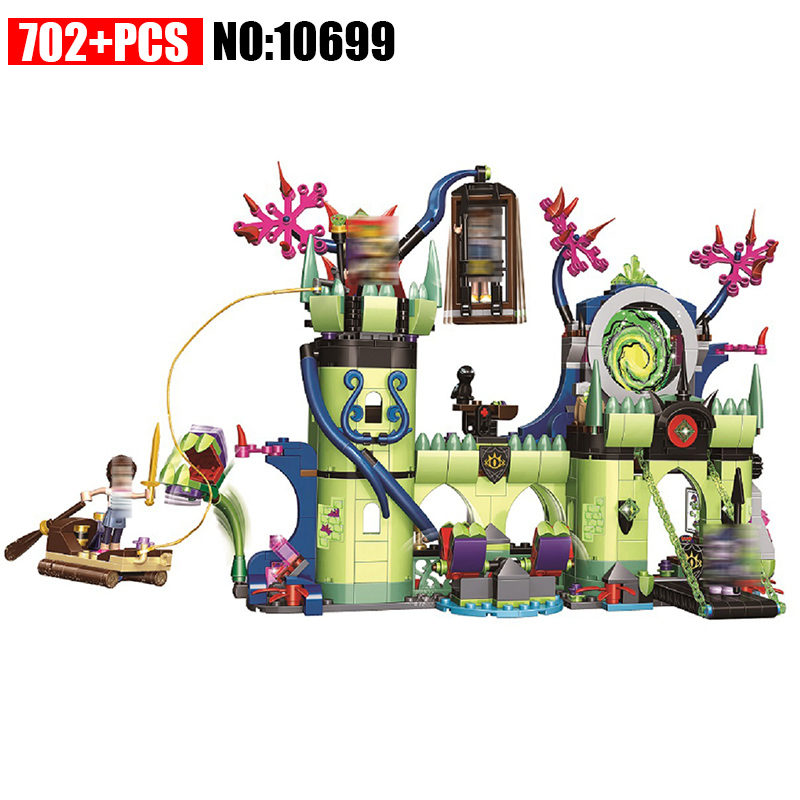 10699 Elves Breakout from the Goblin King's Fortress Building Blocks kids girls Bricks toys Christmas Gift Compatible With 41188 kazi 608pcs pirates armada flagship building blocks brinquedos caribbean warship sets the black pearl compatible with bricks