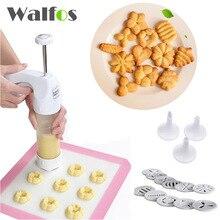 Baking pastry Werkzeuge Plätzchenform Presse Pistole, 12 flower form + 6 pastry tipps keks ausstecher diy kuchen cookie, der maschine