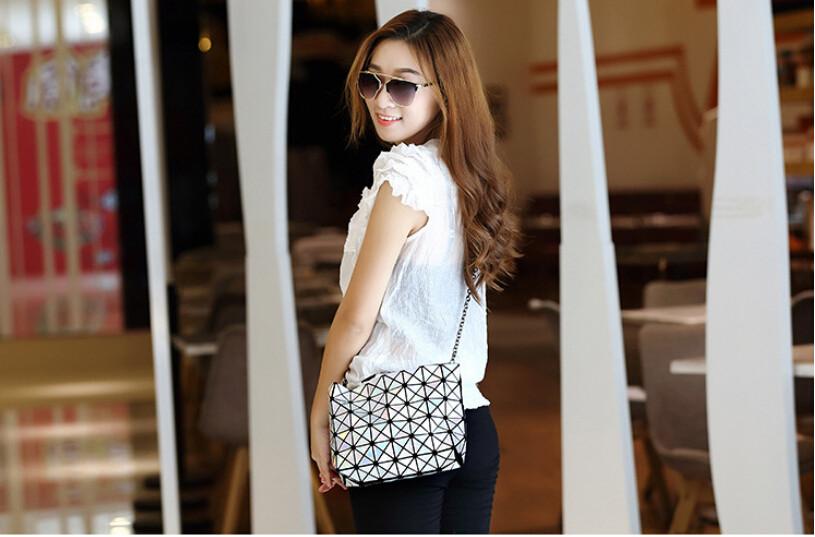18 Famous Bao Bags Women Geometric Lingge Envelope Handbag Small Chain Clutch Ladies Shoulder Bags Messenger Bag Bao Bolsa 5