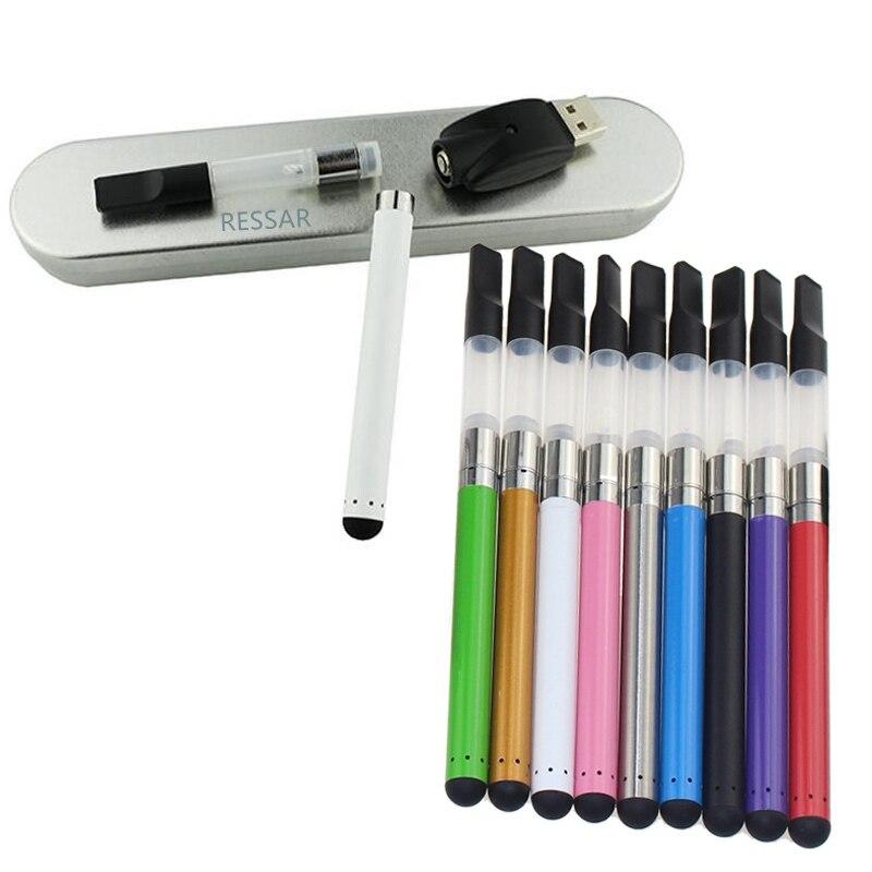 GERMOGLIO di tocco batteria scatola di metallo kit penna vape CBD vaporizzatore olio penna penna cartuccia CE3 atomizzatore germoglio touch batteria e cig kit