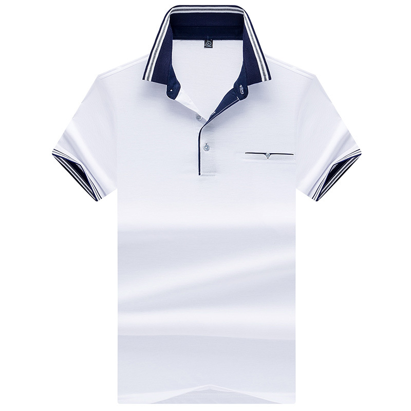 Designer Solid Men's   Polo   Shirts Short Sleeve Summer Fashion High Quality Fit Slim Casual   Polo   Shirt Men Brand Tees AF7188