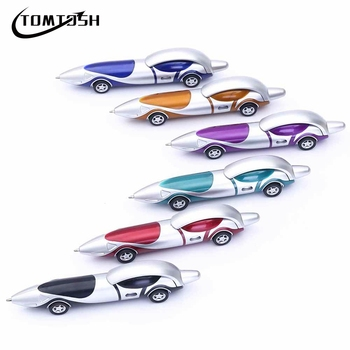 TOMTOSH New Cute Kawaii Plastic Car Ballpoint Pen Novelty Ball Pen Creative Items Products 1