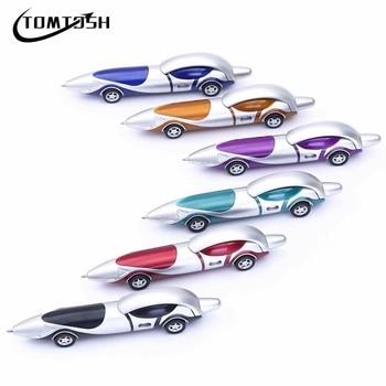 TOMTOSH New Cute Kawaii Plastic Car Ballpoint Pen Novelty Ball Pen Creative Items Products 1