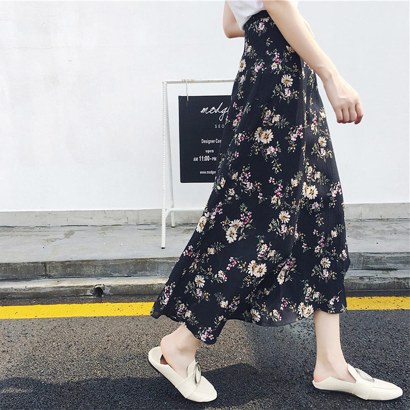 Boho Asymmetrical Chiffon Maxi Long Skirts 5