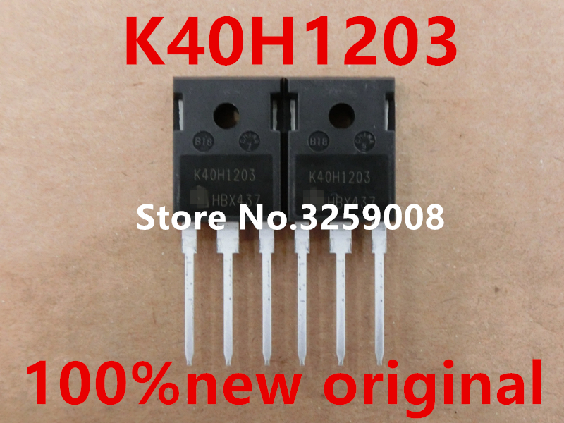цена K40H1203 IKW40N120H3 100% new original 5PCS/10PCS