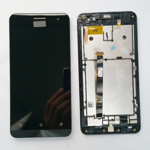 For Asus ZenFone 5 A500CG A501CG T00J Full Touch Screen Panel Sensor Glass + LCD Display Monitor Screen Assembly + Frame Housing
