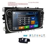 HIZPO Car Multimedia player 2din GPS Autoradio 2 Din For FORD/Focus/Mondeo/S MAX/C MAX/Galaxy Steering Wheel Control Mirror Link
