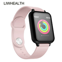 2019 Men/Women Slim Smart Watch Band IP68 Swim Health Fitness HR/BP Smartwatch Montre Connect For Apple/Xiomi/Huawei PK IWO 5/Q9