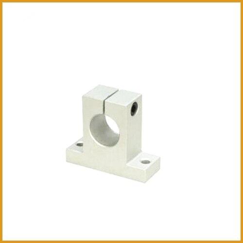10 шт. SK8 8 мм линейный рельсовый вал опорный блок для ЧПУ Линейный подшипник направляющие части Бесплатная доставка