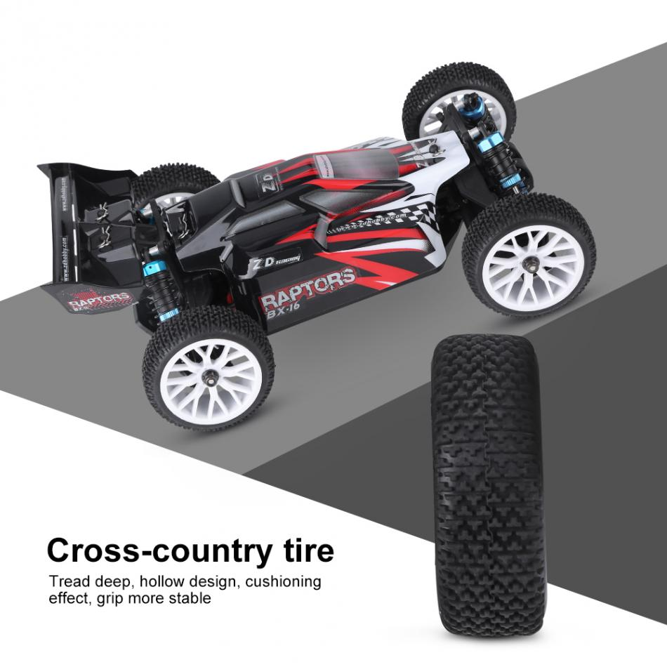 2 Types 2.4GHz Remote Control Four-Wheel Drive Car 1/16 RC Model Vehicle Toy