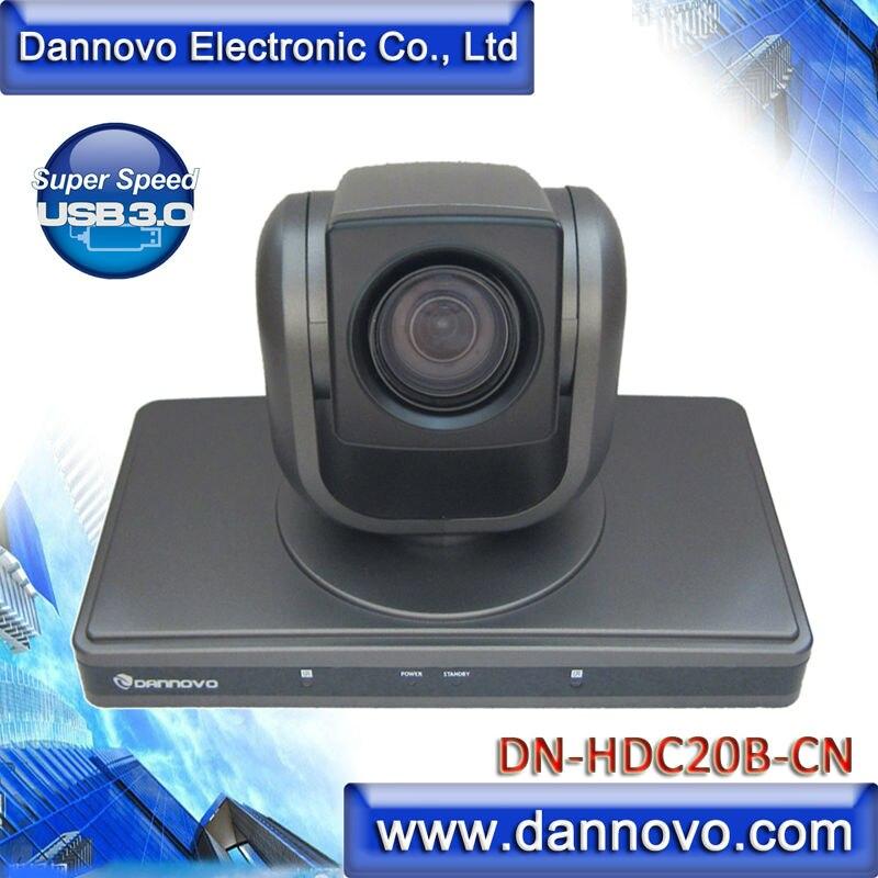DANNOVO USB3.0 Interface do HD 1080 p Câmera De Vídeo Conferência, Módulo China 20X Zoom Óptico, suporte VISCA & Pelco-D, 1920x1080 p/30