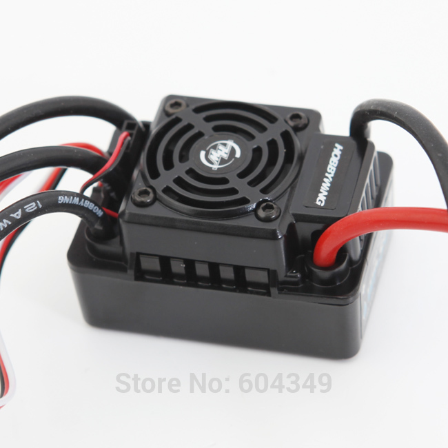 Hobbywing EZRUN WP SC8 Waterproof 120A Brushless ESC RC Car EZRUN-WP-SC8Freeshipping